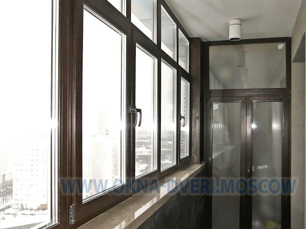 Остекление балконов рехау цена в москве остекление балконов под ключ в москве цены